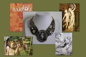 baroko náhrdelník